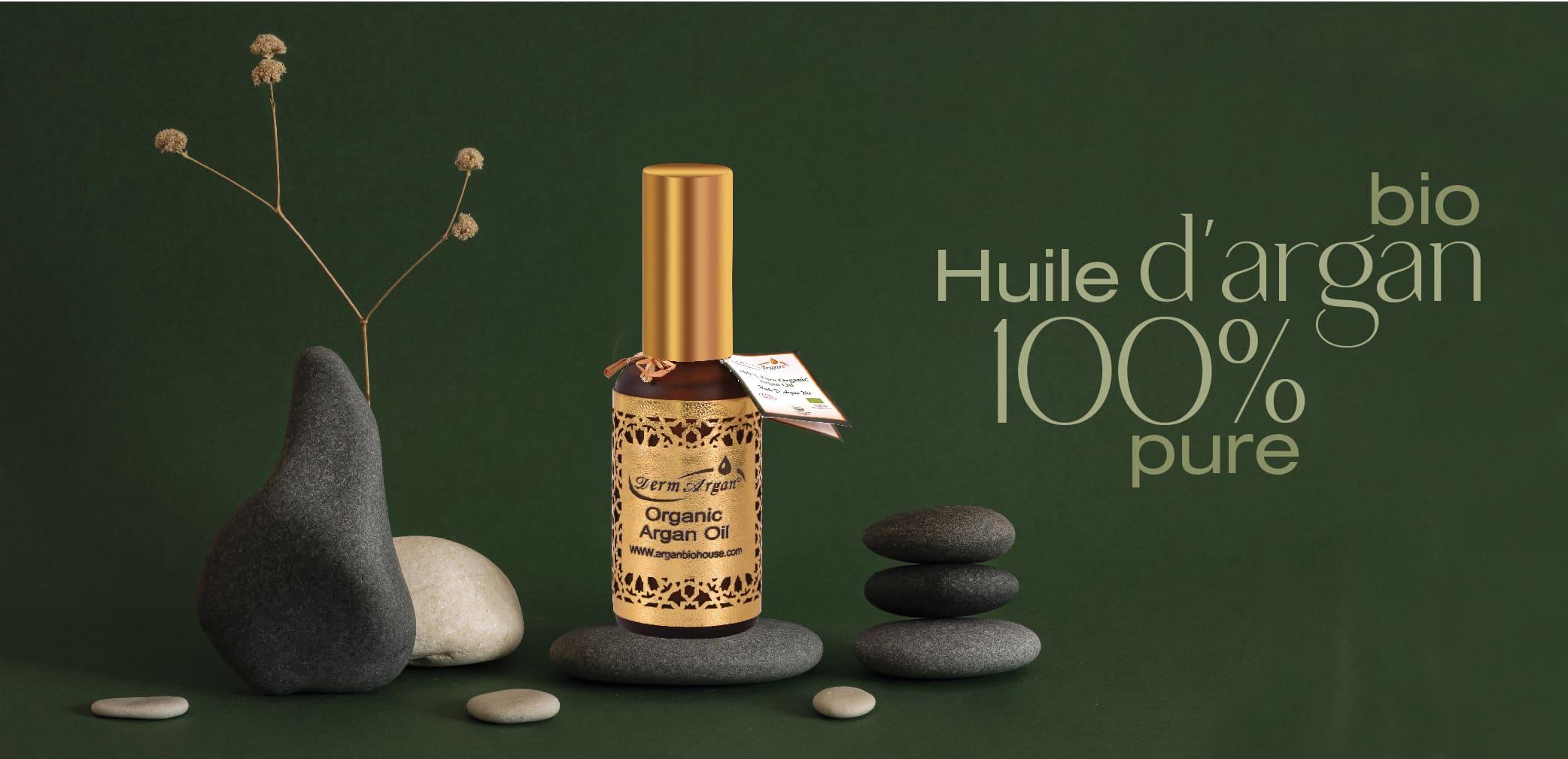 Huile d'argan 100%</br> Pure & Bio